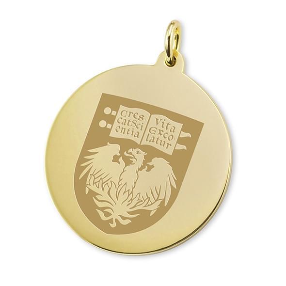 Chicago 14K Gold Charm