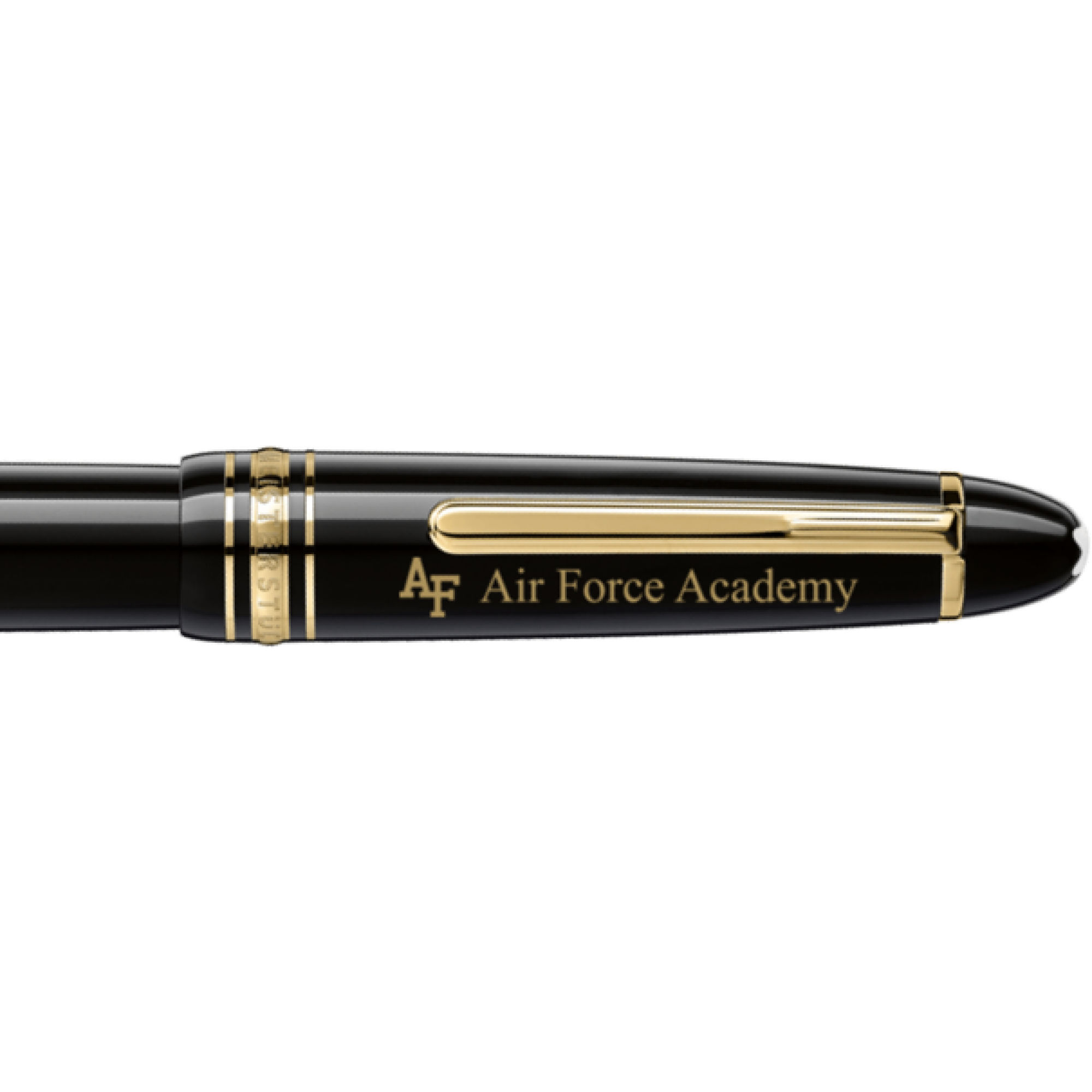US Air Force Academy Montblanc Meisterstück LeGrand Rollerball Pen in Gold