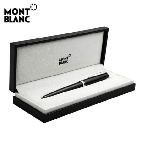 Auburn University Montblanc Meisterstück Classique Ballpoint Pen in Platinum