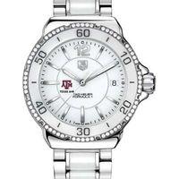 Texas A&M Women's TAG Heuer Formula 1 Ceramic Diamond Watch