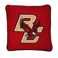 Boston College Handstitched Pillow