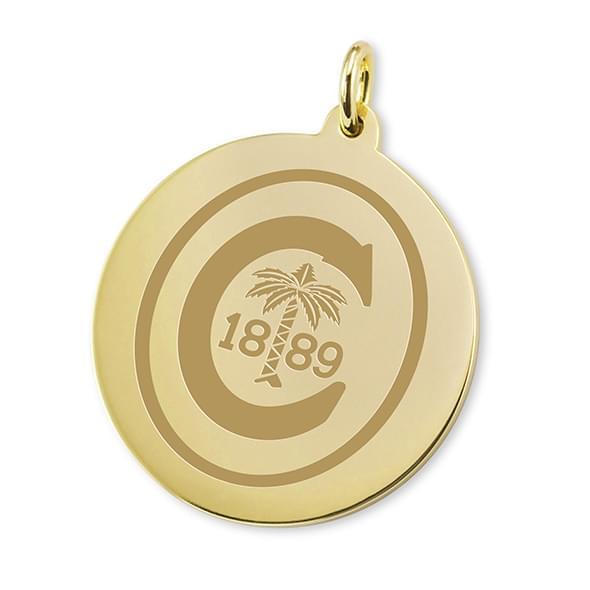 Clemson 14K Gold Charm