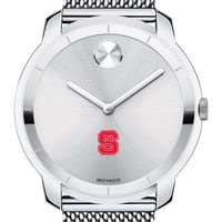 NC State Men's Movado Stainless Bold 44