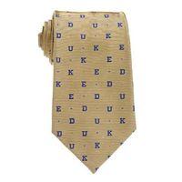 D-U-K-E Tie in Gold