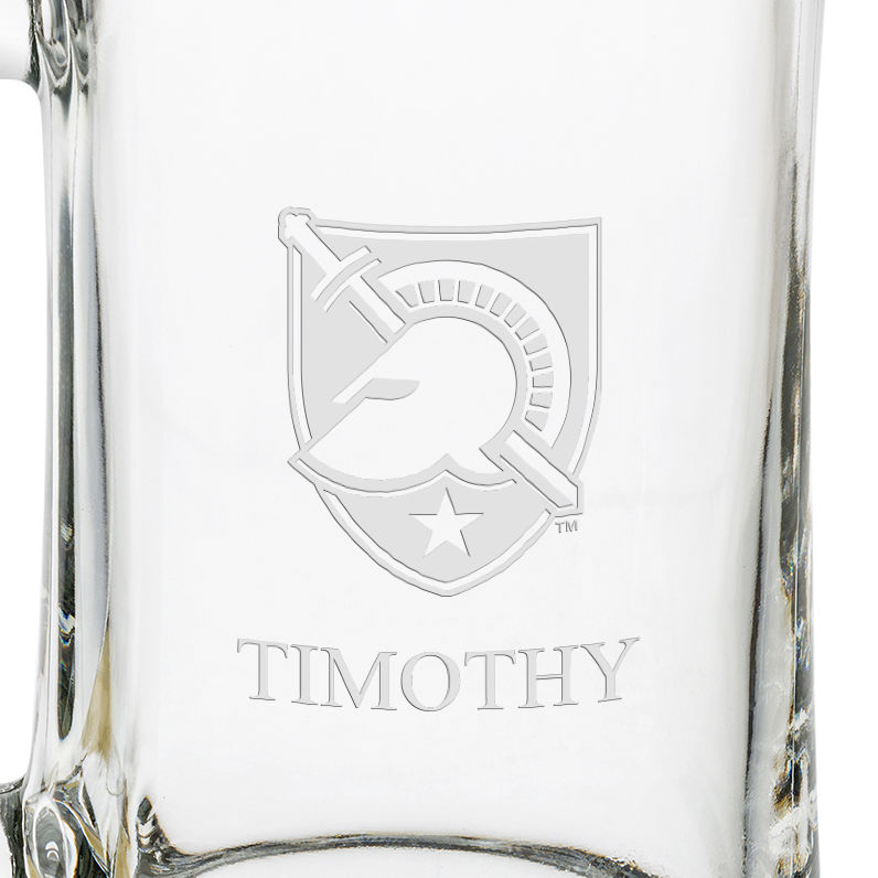 West Point 25 oz Glass Stein