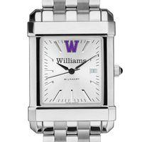 Williams College Men's Collegiate Watch w/ Bracelet