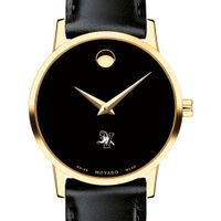 UVM Women's Movado Gold Museum Classic Leather