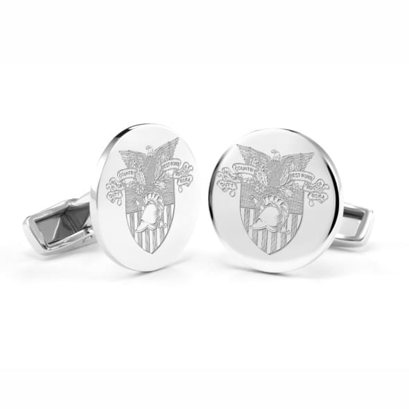 West Point Sterling Silver Cufflinks