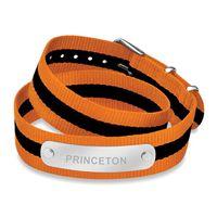 Princeton University Double Wrap NATO ID Bracelet