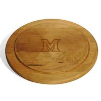 Miami University Round Bread Server
