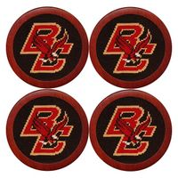 Boston College Needlepoint Coasters