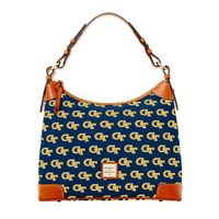 Georgia Tech  Dooney & Bourke Hobo Bag