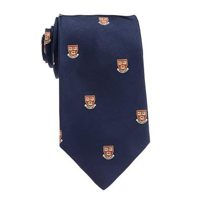Harvard Tie in Traditional Blue