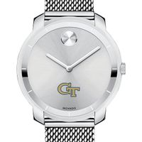 Georgia Tech Women's Movado Stainless Bold 36