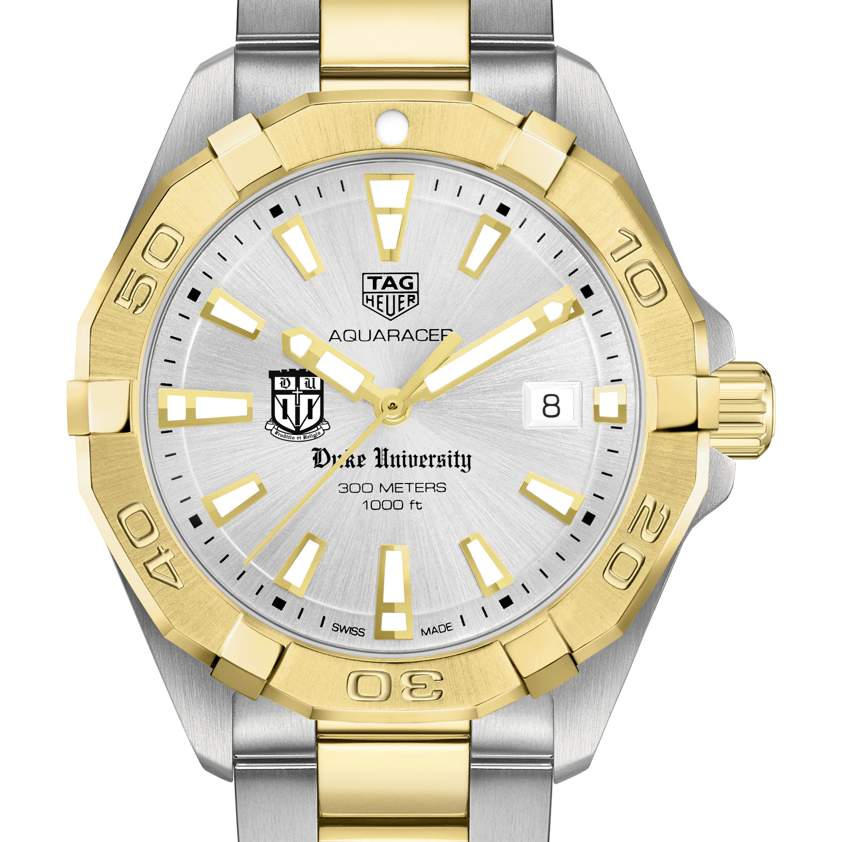 Duke Men's TAG Heuer Two-Tone Aquaracer