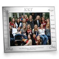 Kappa Kappa Gamma Signature Engraving Pewter 8x10 Frame - Landscape Image-1 Thumbnail
