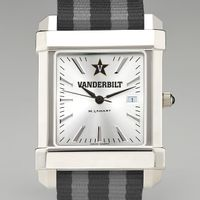 Vanderbilt Men's Collegiate Watch w/ NATO Strap