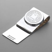 UNC Sterling Silver Money Clip