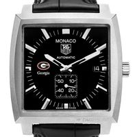 University of Georgia Men's Monaco Watch by TAG Heuer