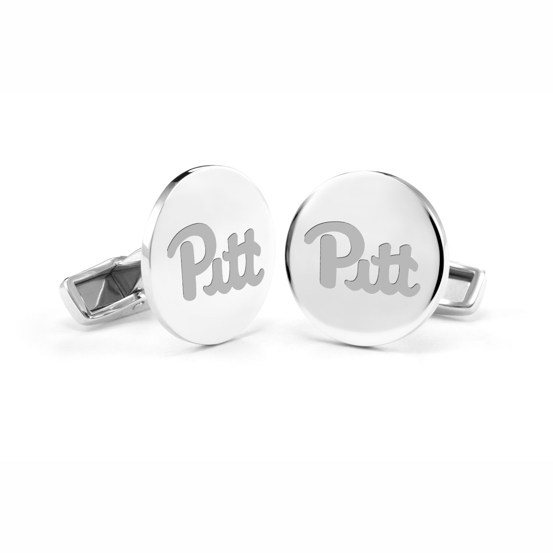 Pittsburgh Sterling Silver Cufflinks