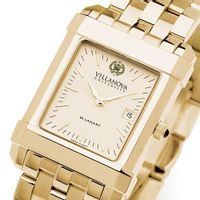 Villanova Men's Gold Quad Watch with Bracelet