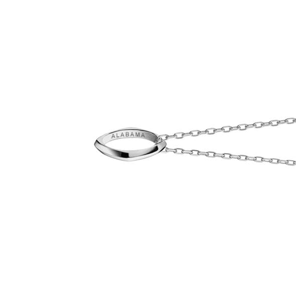 Alabama Monica Rich Kosann Poesy Ring Necklace in Silver