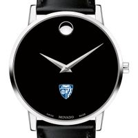 Johns Hopkins Men's Movado Museum with Leather Strap