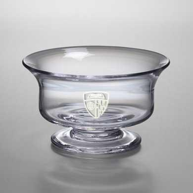 Johns Hopkins Medium Glass Presentation Bowl by Simon Pearce