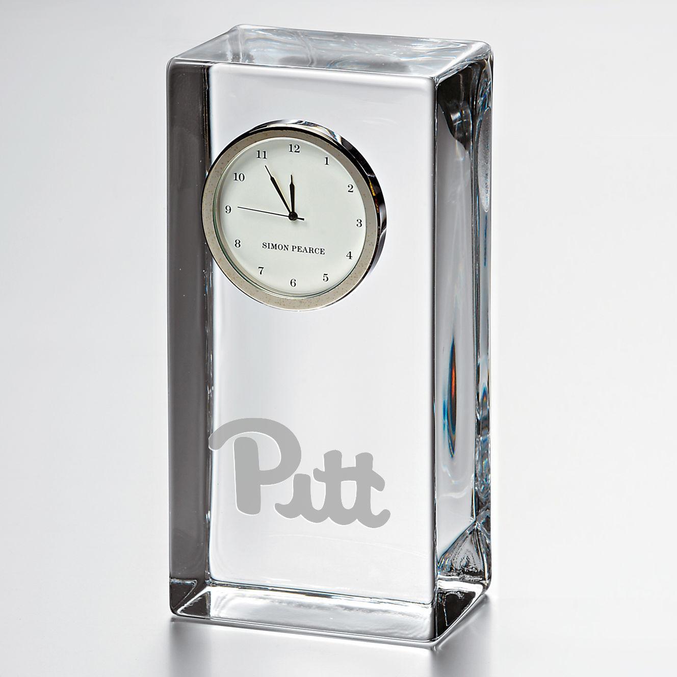 Pitt Tall Class Desk Clock by Simon Pearce