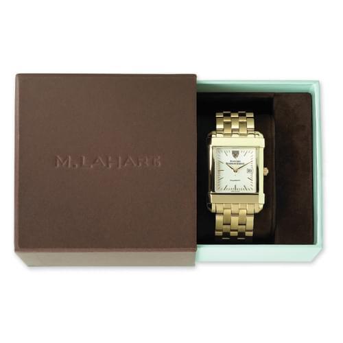 ASU Women's Gold Quad Watch with Bracelet