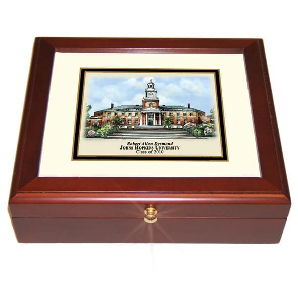 Johns Hopkins Eglomise Desk Box