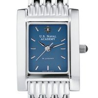 USNA Women's Blue Quad Watch with Bracelet