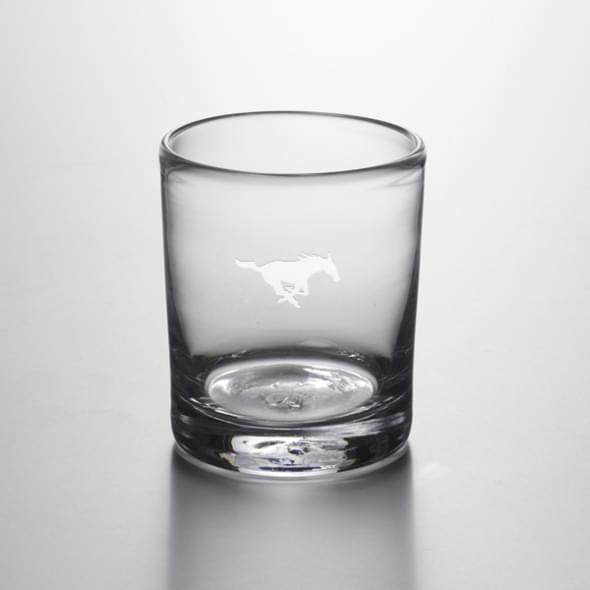 SMU Double Old Fashioned Glass by Simon Pearce