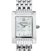 USNI Women's Mother of Pearl Quad Watch with Bracelet