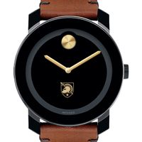 West Point Men's Movado BOLD with Brown Leather Strap