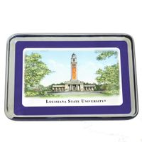 LSU Eglomise Paperweight
