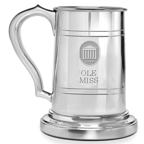 Ole Miss Pewter Stein