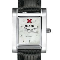 Miami University Women's MOP Quad with Leather Strap
