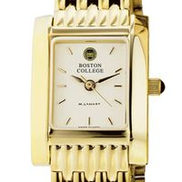 Boston College Women's Gold Quad Watch with Bracelet