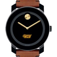 VCU Men's Movado BOLD with Brown Leather Strap