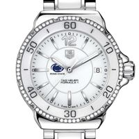 Penn State Women's TAG Heuer Formula 1 Ceramic with Diamonds