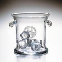 WUSTL Glass Ice Bucket by Simon Pearce