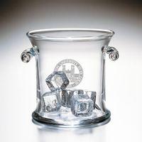 WUSTL Glass Ice Bucket by Simon Pearce