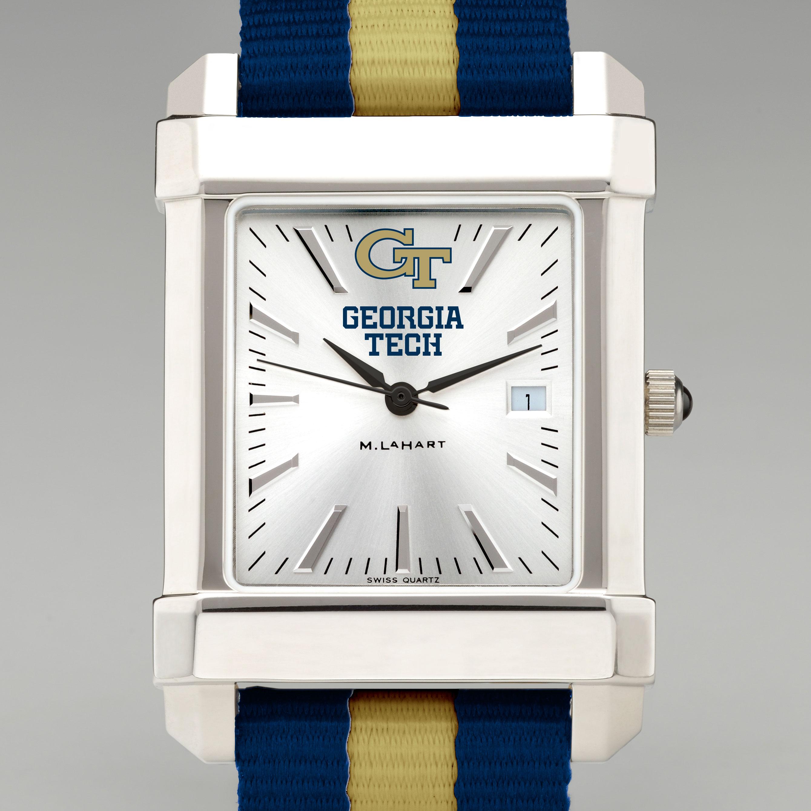 Georgia TechMen's Collegiate Watch with NATO Strap