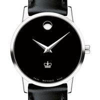 Columbia Women's Movado Museum with Leather Strap