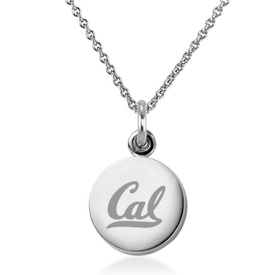 Berkeley Sterling Silver Necklace with Silver Charm