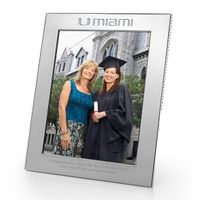 Miami Polished Pewter 8x10 Picture Frame