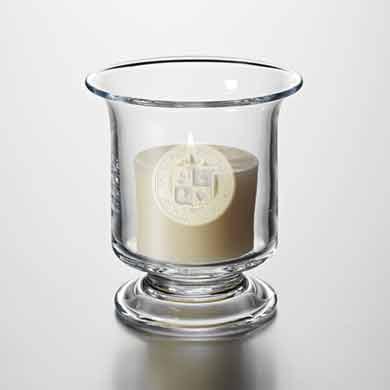 VT Glass Hurricane Candleholder by Simon Pearce