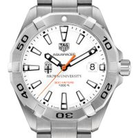 Brown Men's TAG Heuer Steel Aquaracer