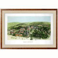Historic Lehigh University Watercolor Print